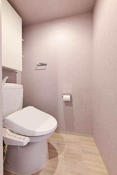 環境にも経済的にも優しい超節水ECO6トイレを採用。