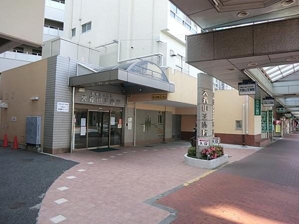 大森山王病院、約500m、徒歩7分