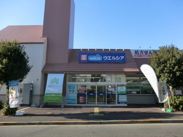 ウエルシア大田上池台店、約460m、徒歩6分
