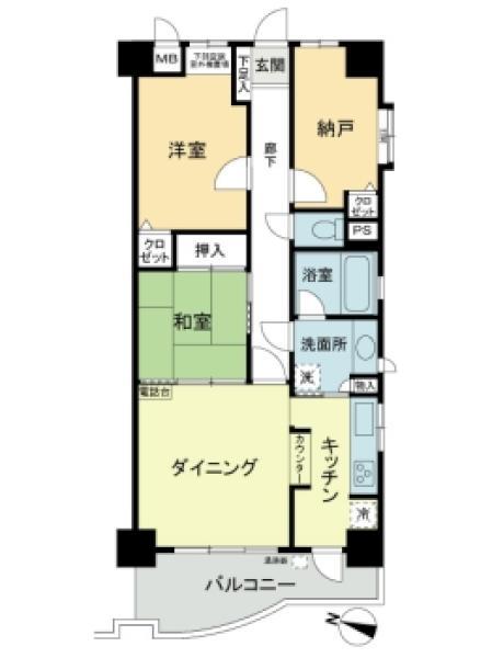 ライオンズマンション平塚見附町第2