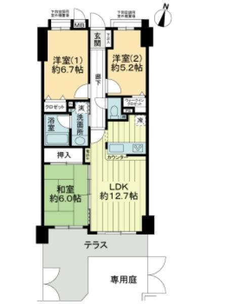レクセルマンション竹の塚第2