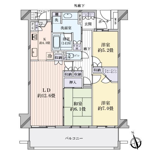 ガーデンプラザ新検見川17番館