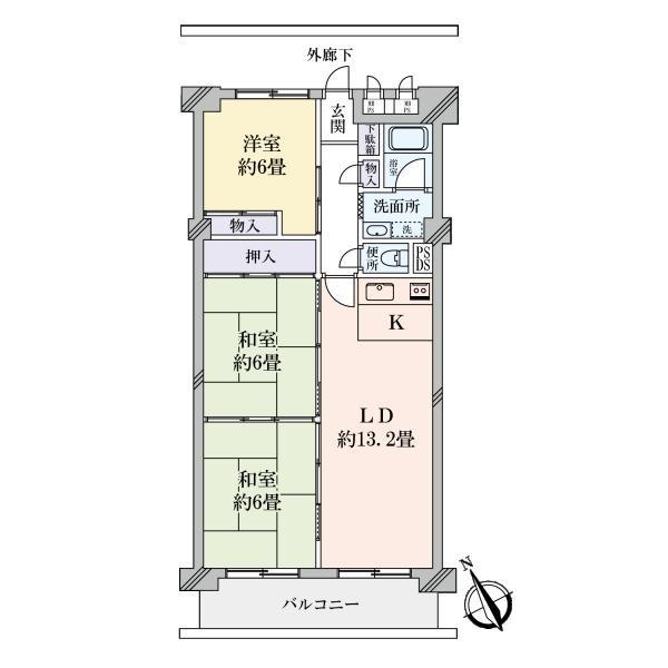 新松戸西パークハウスC棟