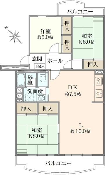 京成サンコーポ谷津B棟