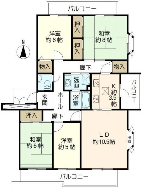 ニュータウン小山田桜台28号棟