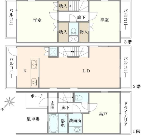東京都世田谷区船橋3丁目