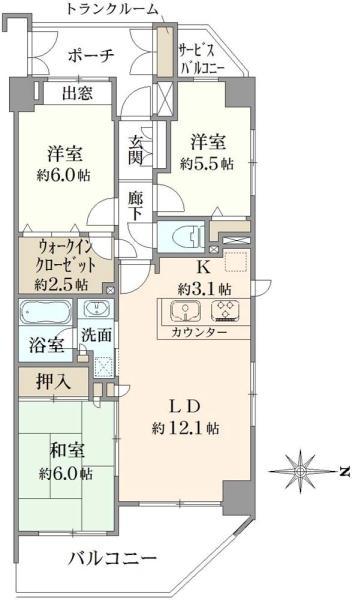 クレストフォルム東大島